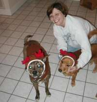 On December 26, 2003 Georgia Dabinett made a General Dedication for Wanna be reindogs living in our home